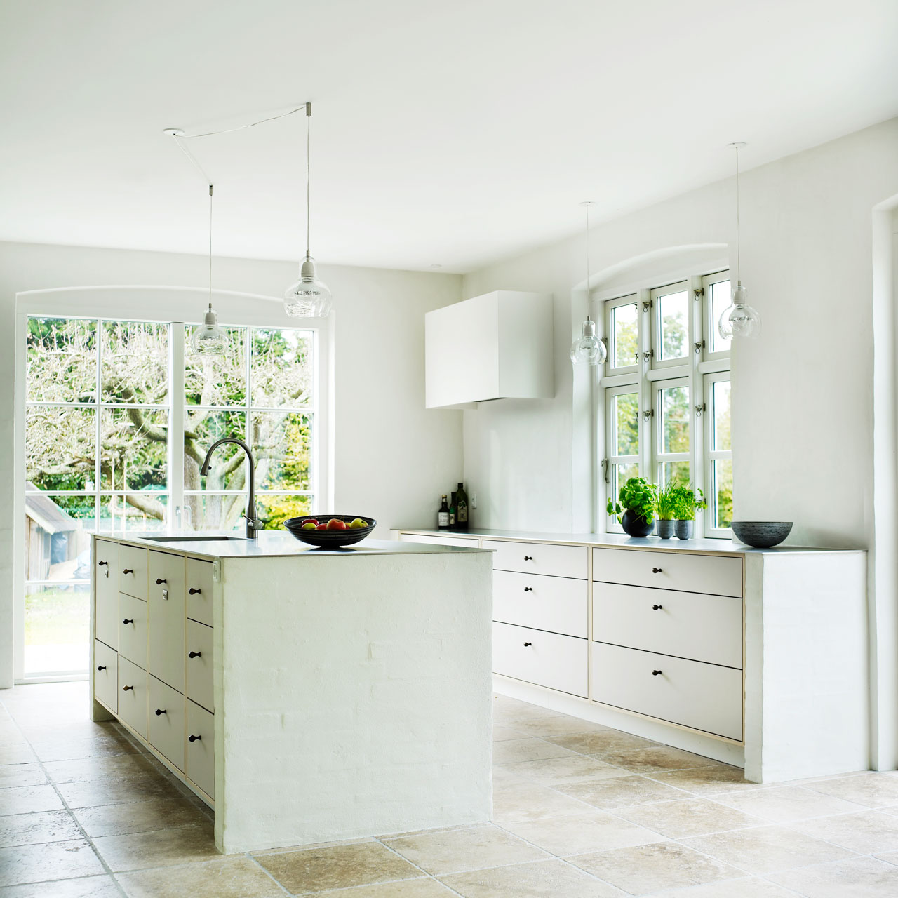 #759E2D Bedst Landkøkken I Birk Og Linoleum Køkkenskaberne Fransk Landkøkken Stil 4823 128012804823